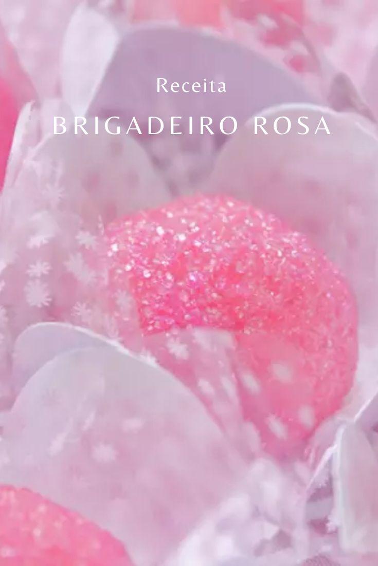 brigadeiro rosa