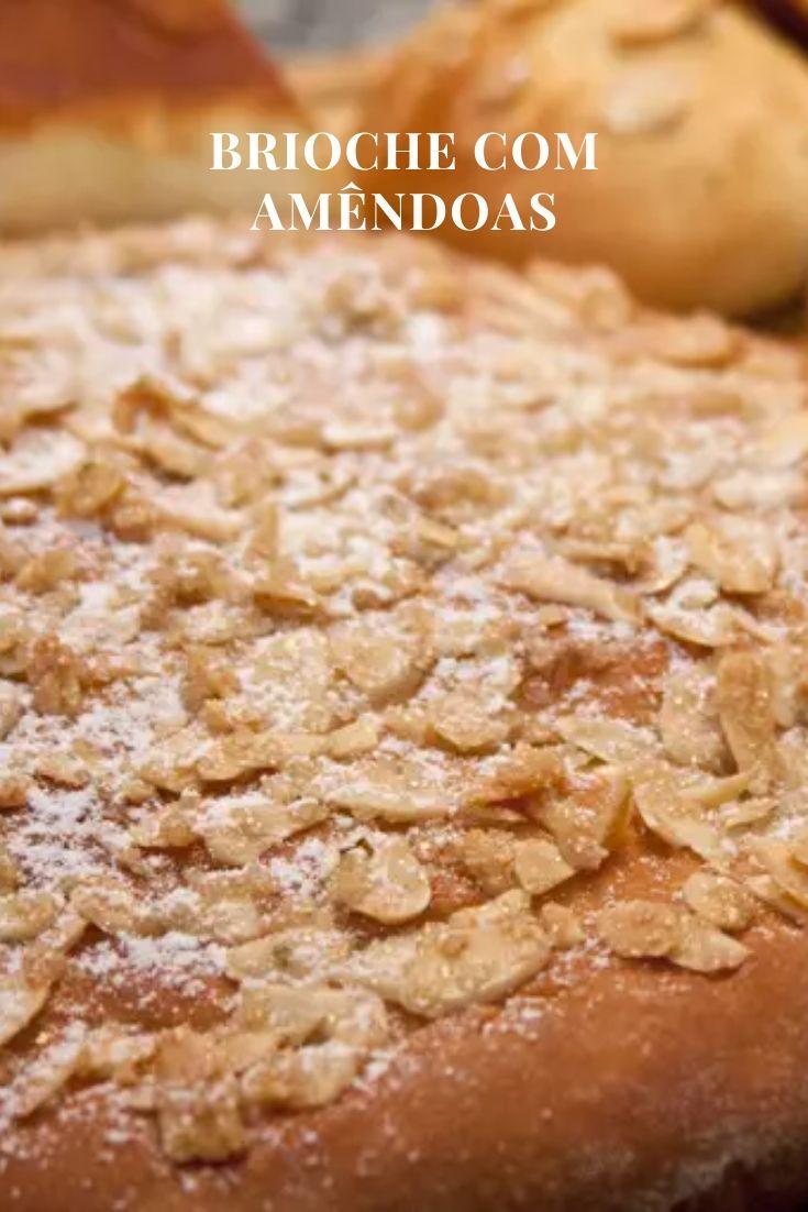 Brioche amendoas