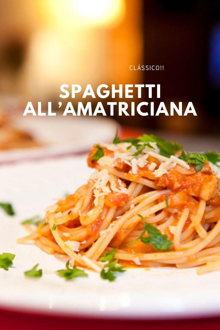 Spaghetti all-amatriciana