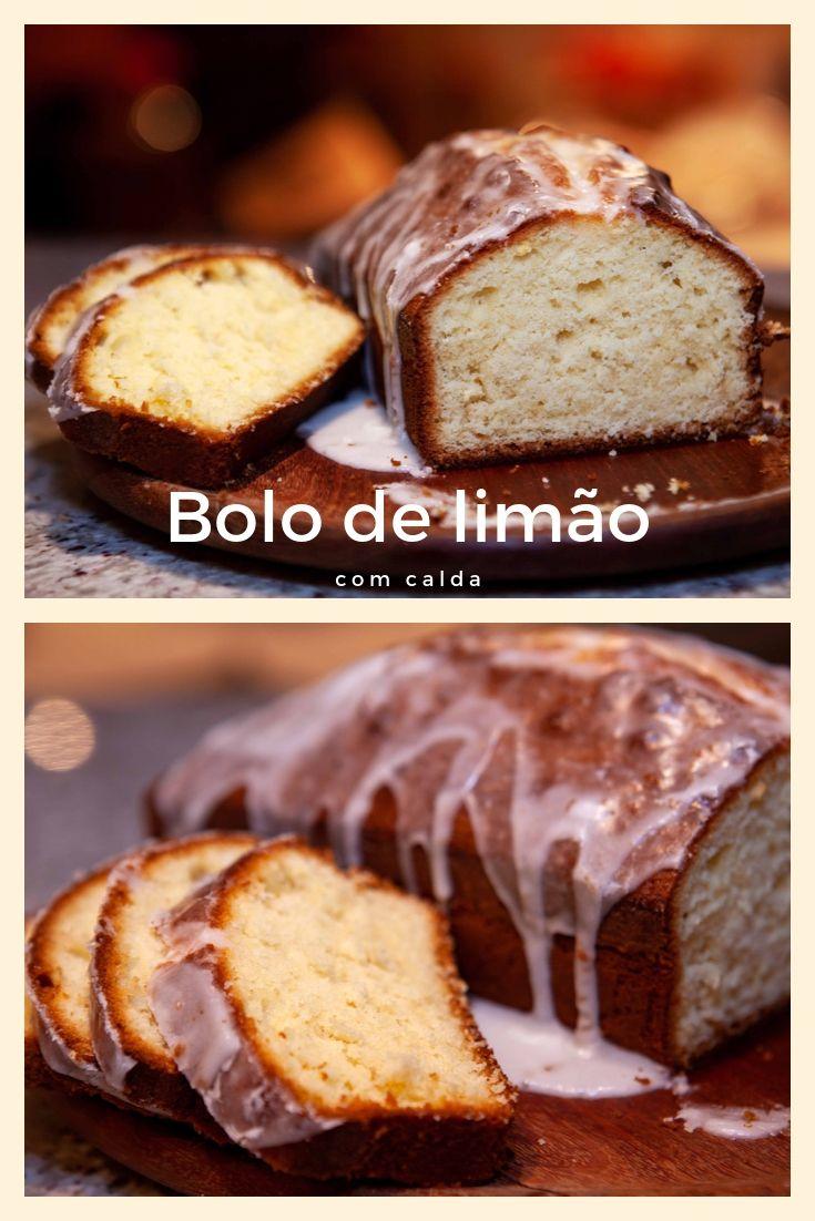 bolo de limao com calda