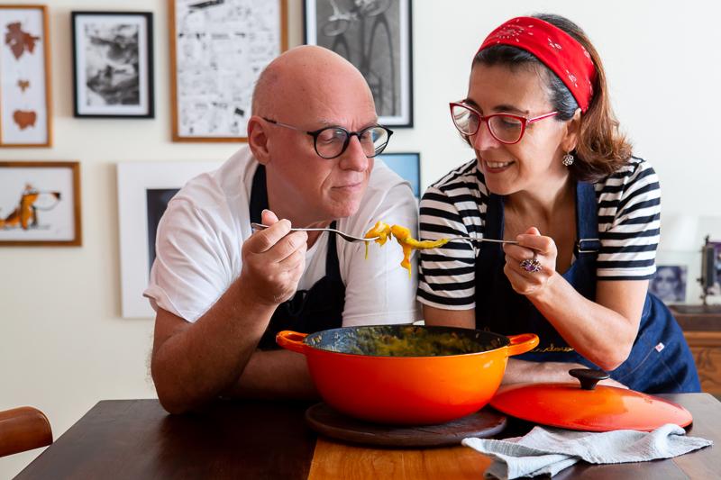 Podcast conta a história do Cozinha a Dois