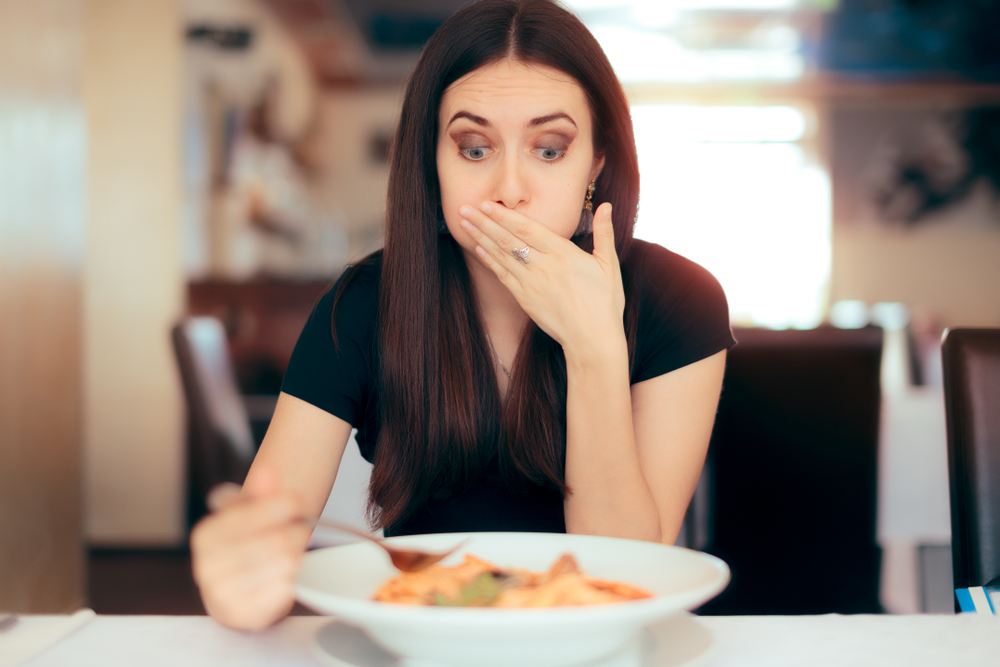 comida com veneno agrotoxido