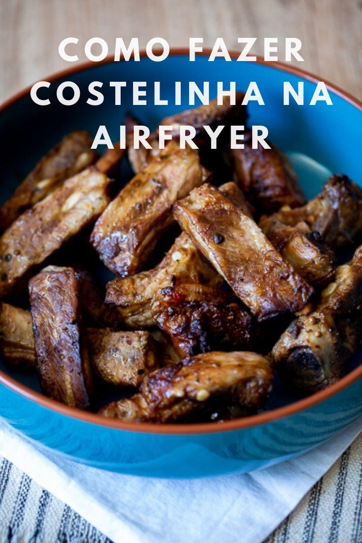 Como fazer costelinha na Airfryer