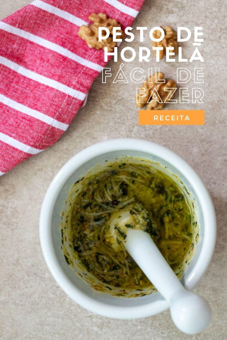 Pesto hortelã