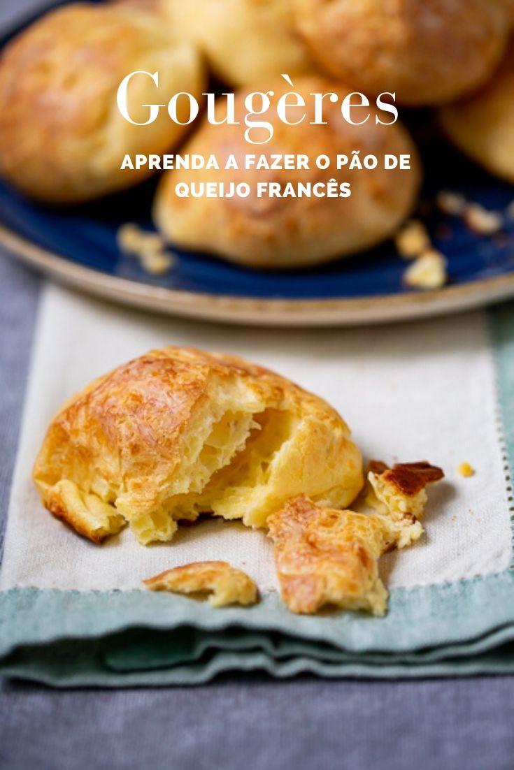 Gougères: aprenda a fazer o pão de queijo francês