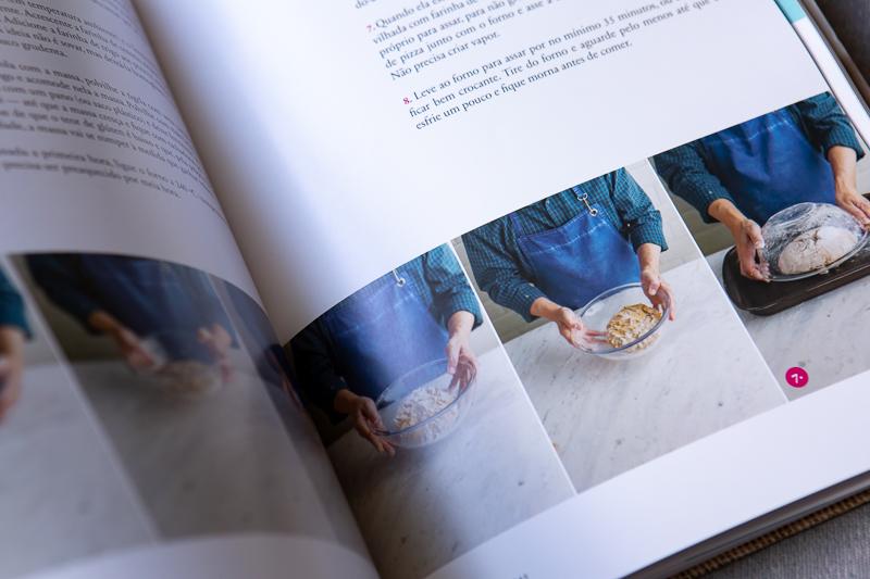 livro sobre pao