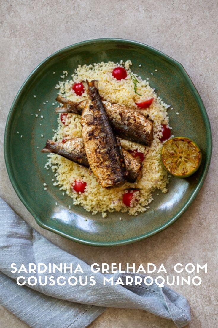 sardinha-grelhada-couscous