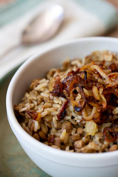 arroz-lentilha-mjadra