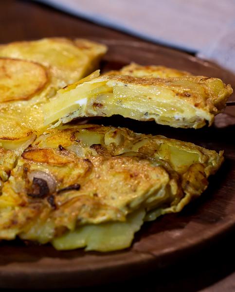 Tortilla de batatas