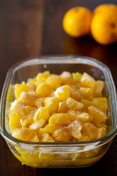 laranja marinada